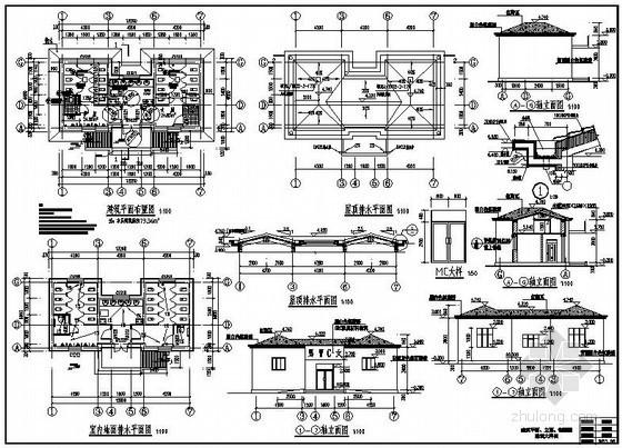 某公园公用厕所建筑结构施工图