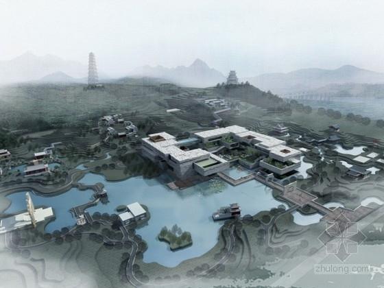 [北京]某园林博物馆规划设计方案文本(含cad)
