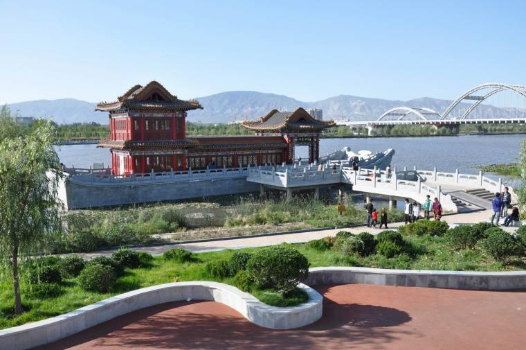 山西临汾汾河公园