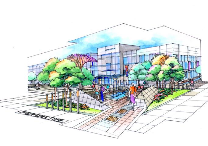 [江苏]昆山里坊模式商业街景观设计方案