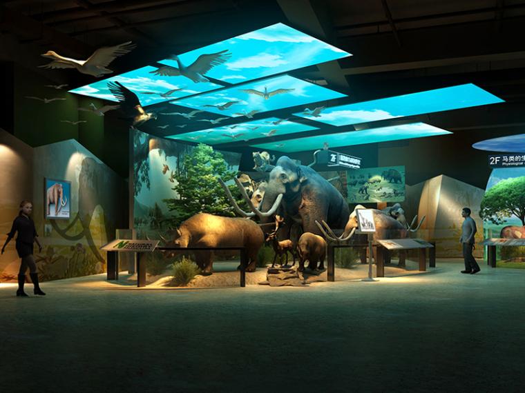 自然展览馆3D模型下载