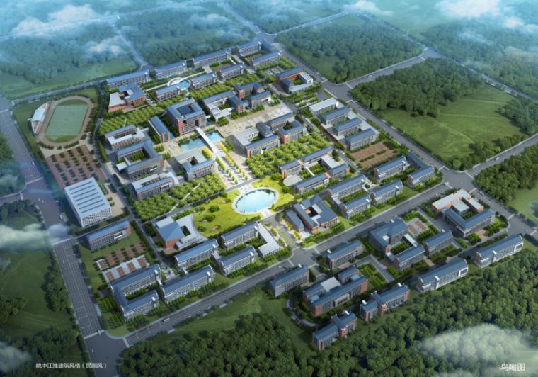 [安徽]某师范学院滨湖校区详细规划方案文本