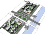 办公、居住综合区建筑规划方案