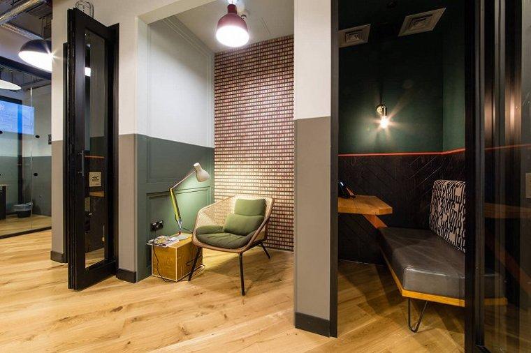咖啡厅风格的联合办公空间-帕丁顿区WEWORK联合办公室室内实景图 (11)