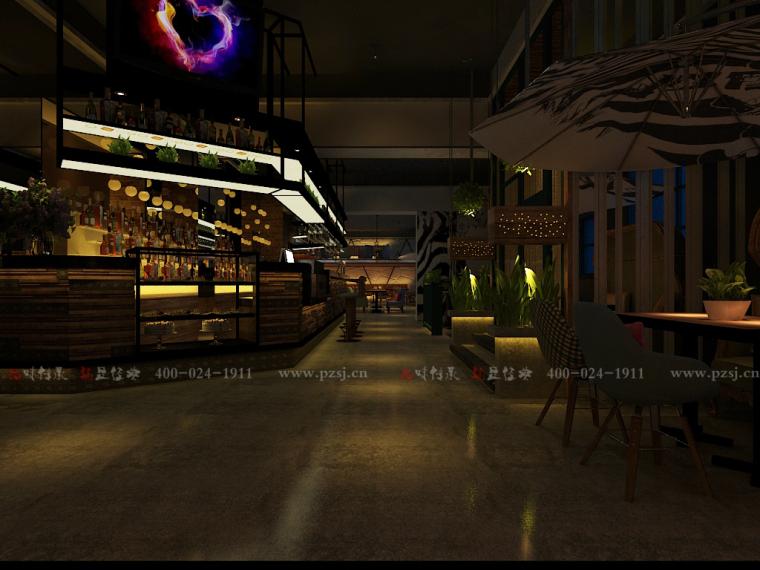 [休闲吧设计]沈阳市中山路热情的斑马艺术休闲吧项目设计-1.jpg