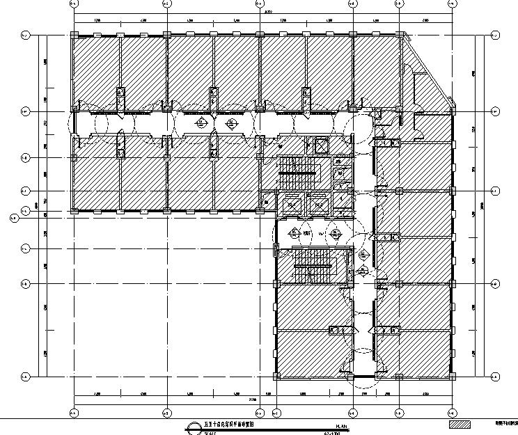 [安徽]希尔顿欢朋酒店(高新区)设计施工图(附效果图)