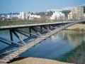 无铰拱钢桁架人行桥设计及施工技术解析(161页PPT,法国和平大桥