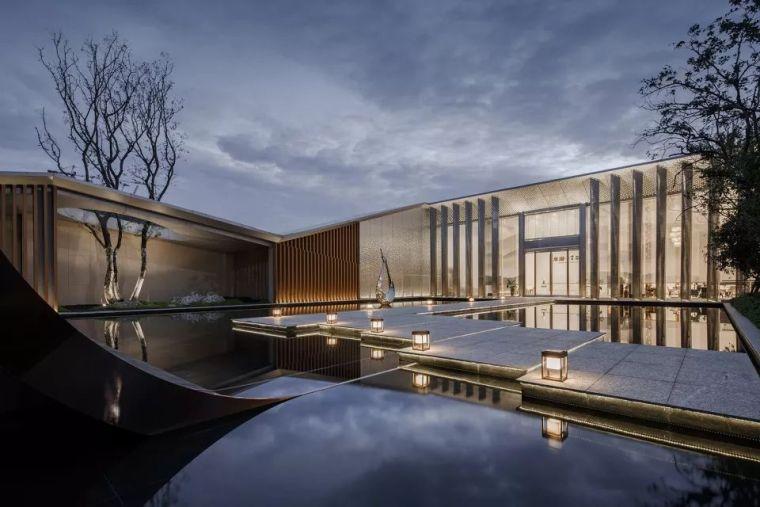 置身山水之间-杭州龙湖江与城售楼处/上海天华建筑设计有限公司
