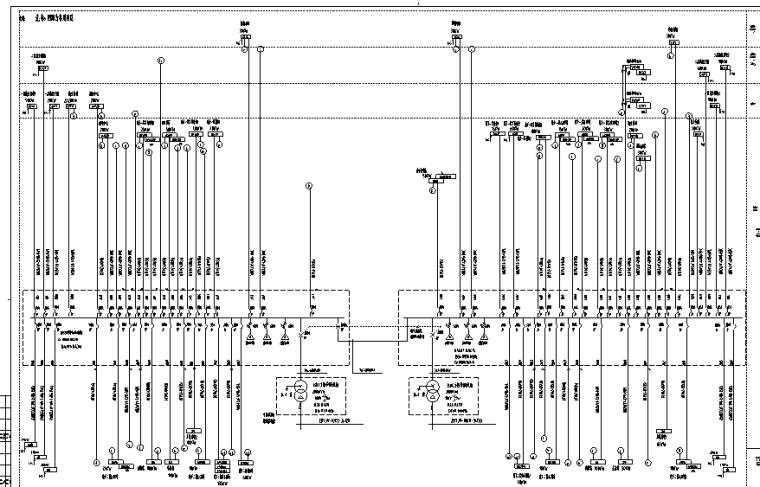 一类高层商业办公楼全套强弱电施工图(含水暖、建筑结构)