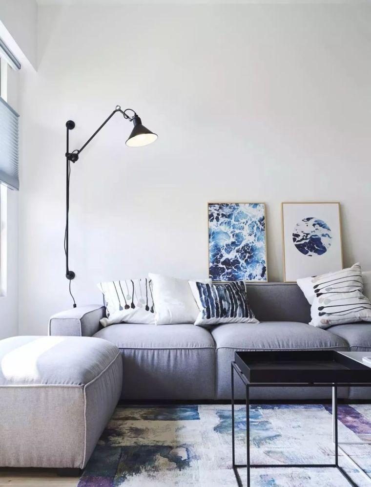 2019年灰色的最新家装设计搭配_15