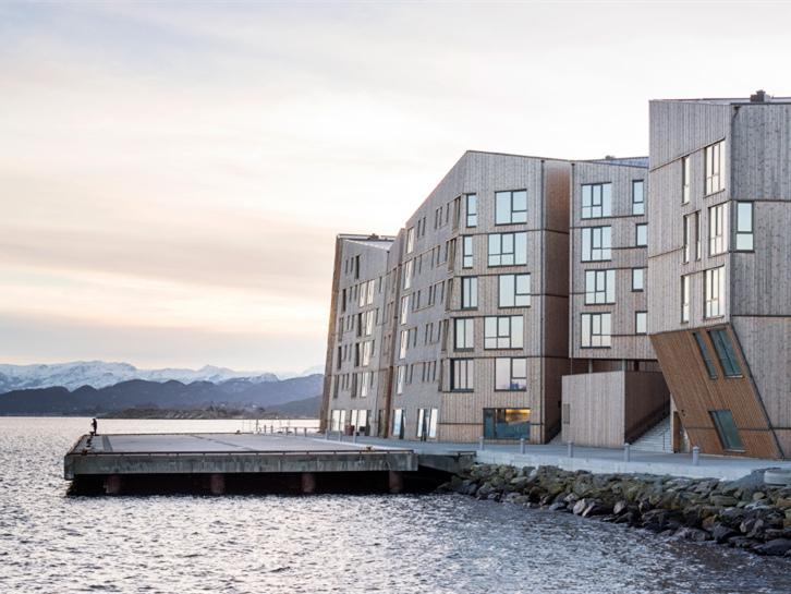 挪威滨海木质住宅-挪威滨海木质住宅第1张图片