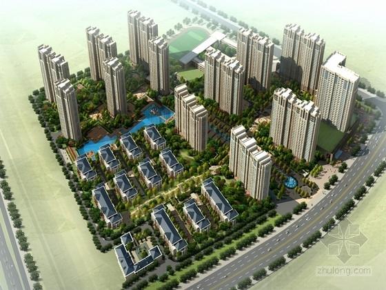 [安徽]32层artdeco风格住宅区规划设计方案文本
