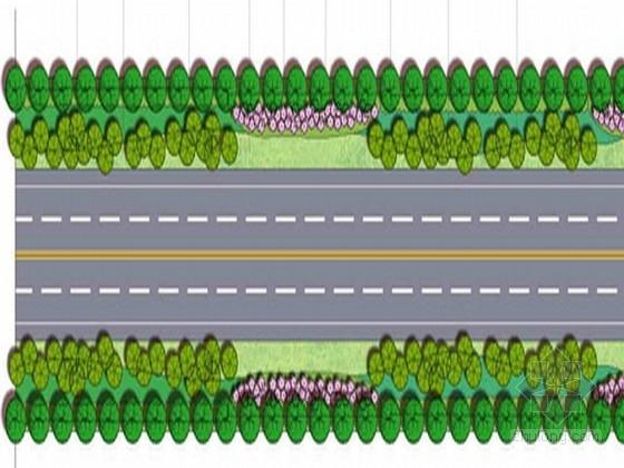 [无锡]高速公路绿化改造规划设计方案(含六条道路)
