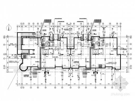 [河南]高档住宅小区给排水消防及天然气系统施工图