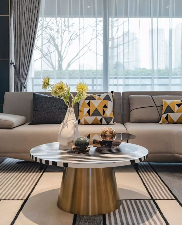 富有家居质感的现代轻奢!