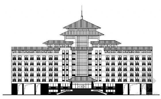 [南京]某高校教学楼建筑外墙石材装饰施工图带立面详图