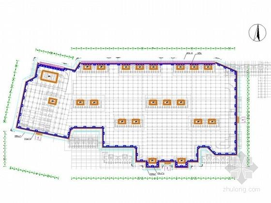 [浙江]深基坑复合土钉墙及双排桩支护施工图(附设计计算书)
