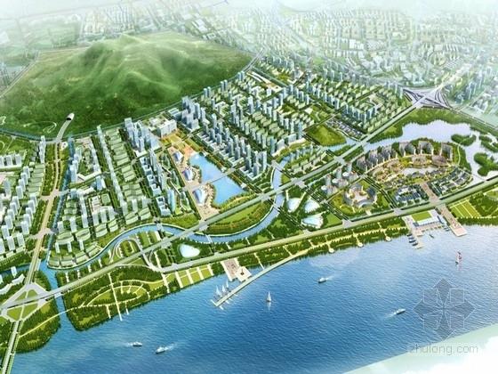 [福建]福州南台岛概念性规划设计方案文本