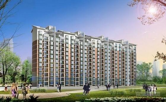 [武汉]大型住宅项目建筑安装工程造价成本概算实例(含地下室)