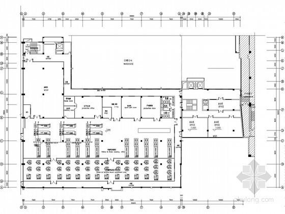 [江苏]工业生产车间给排水管道施工图纸(纯水系统 冷却水系统)