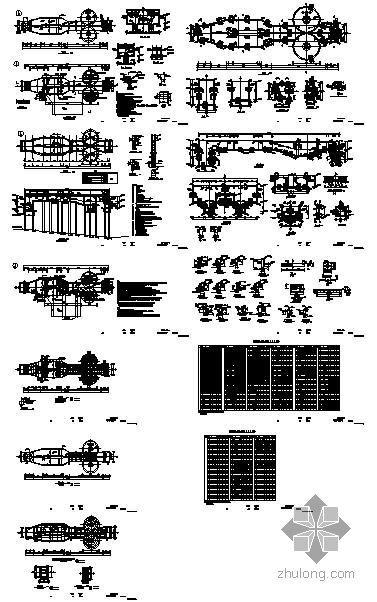重庆某污水厂细格栅池结构设计图