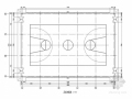 [室内篮球场]单层门式刚架建筑及结构图