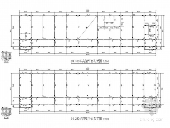 4层钢框架综合楼结构施工图
