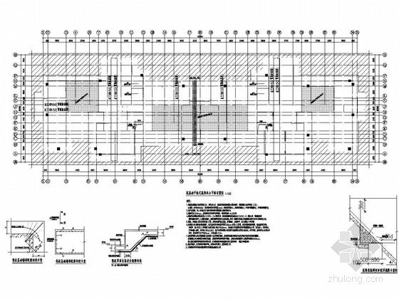 [青海]24层剪力墙高层住宅结构施工图(灌注桩 平板式筏形承台)