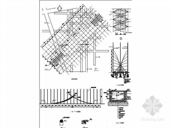 柱阵施工图
