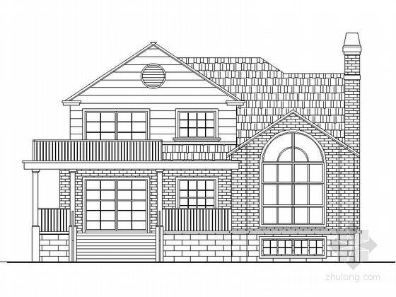 [新农村]三层双拼自建别墅图纸带效果图