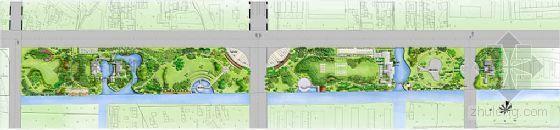 江苏通州公路西侧地块景观设计方案
