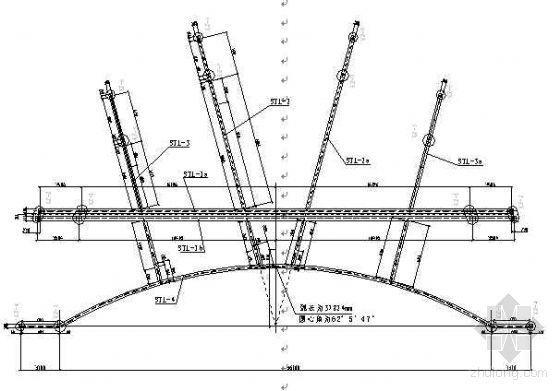 大跨度变截面异形型钢结构施工工法