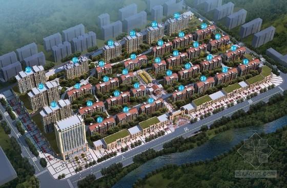 [山东]框剪结构高层住宅小区施工组织设计(127页 附图)