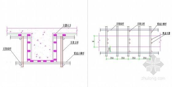 [江苏]框架核心筒结构商业楼高大模板支护专项施工方案(专家论证 附计算)