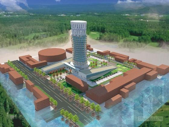北京某立体农场概念方案