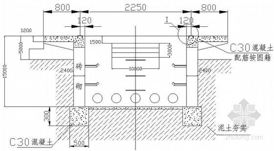 市政电力输电工程施工图纸