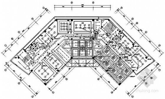 [安徽]四层高级办公楼全套电气施工图纸
