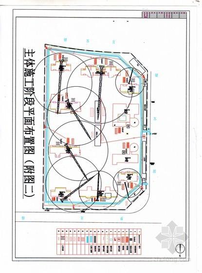 [福建]高层住宅小区施工组织设计(剪力墙、框架结构)