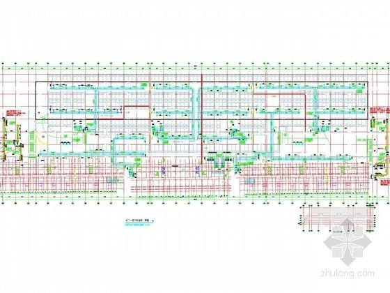 [河北]会所地下车库人防通风系统设计施工图(大院出品)