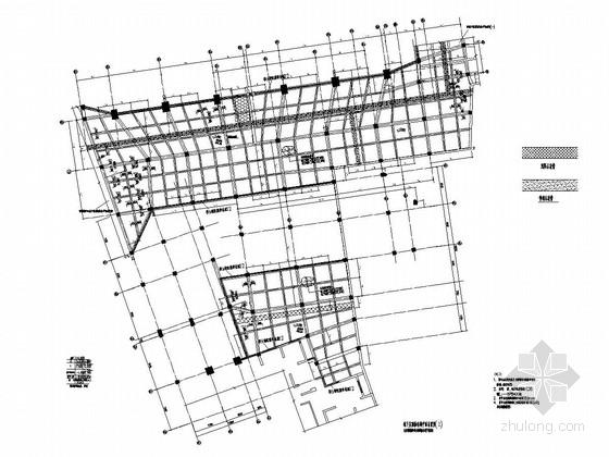 [浙江]地下一层框架结构地下车库结构施工图
