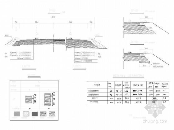 [山东]三级公路路基路面改造施工图48张(含计算)