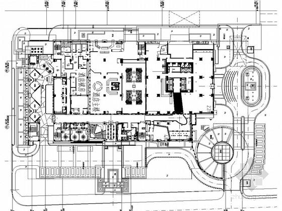 [厦门]商业酒店景观工程设计施工图