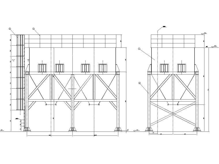 100吨料仓设计图