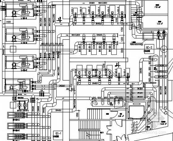 VAV空调施工图资料下载-[深圳]知名国际大厦空调通风及防排烟系统设计施工图(180米 集中供冷)