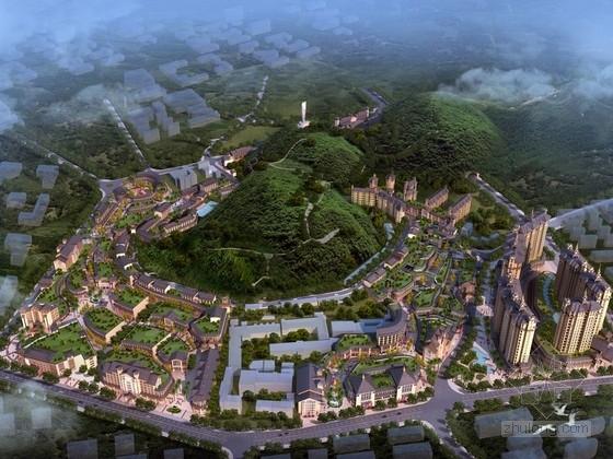[貴州]濱水區現代風格城市綜合體及單體建筑設計方案文本(知名設計院)