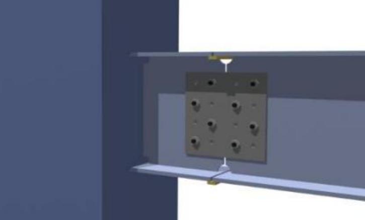 甘肃文化艺术中心场馆高强螺栓施工方案(四层钢框架支撑+钢砼框剪结构)