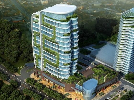 [山东]地上18层框剪结构商务大厦结构施工图(含建施、审查回复与图纸会审表)