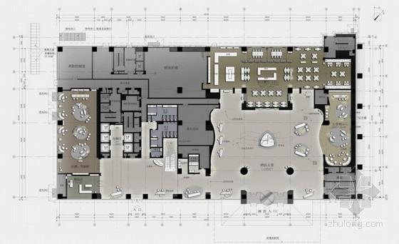[天津]全球连锁集团酒店五星级豪华酒店设计方案