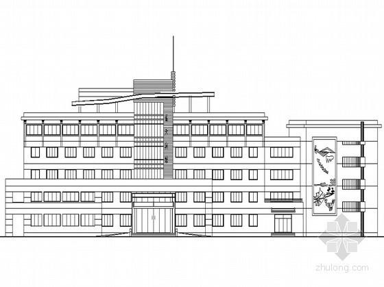 [岱山县]某五层宾馆建筑施工图