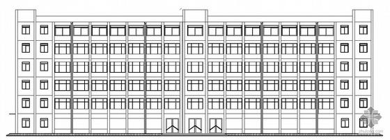 [毕业设计]郑州市教委框架结构综合办公楼建筑施工图